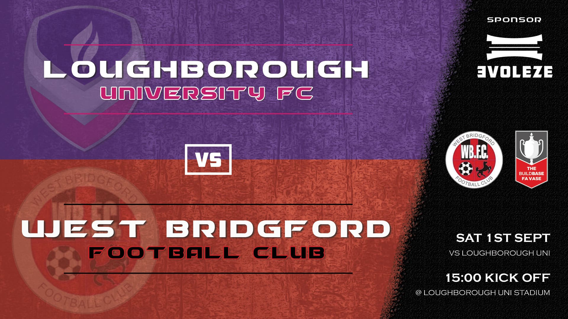 fixture - West Bridgford FC