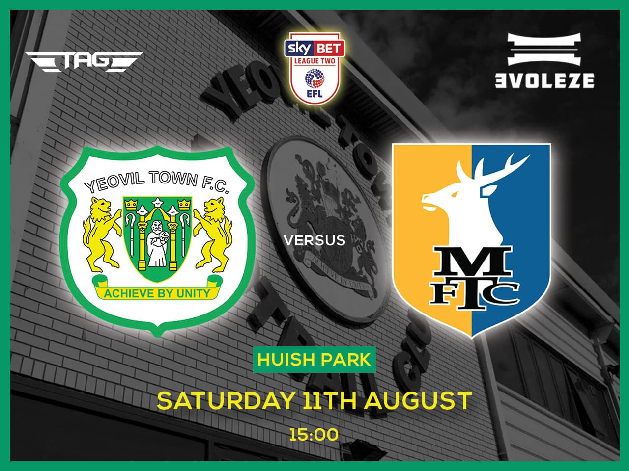 fixture Yeovil Town FC