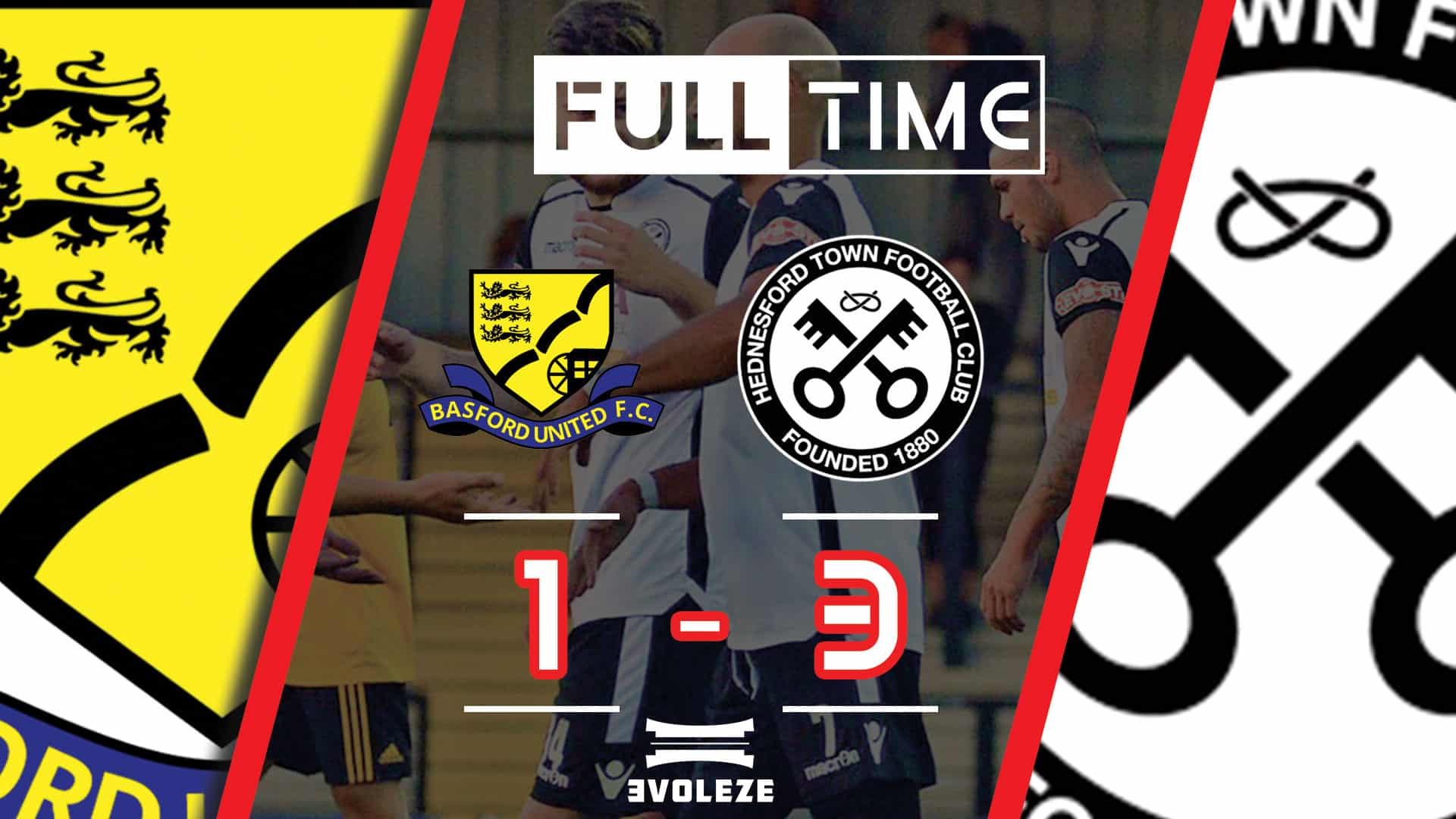 full time Hednesford Town FC
