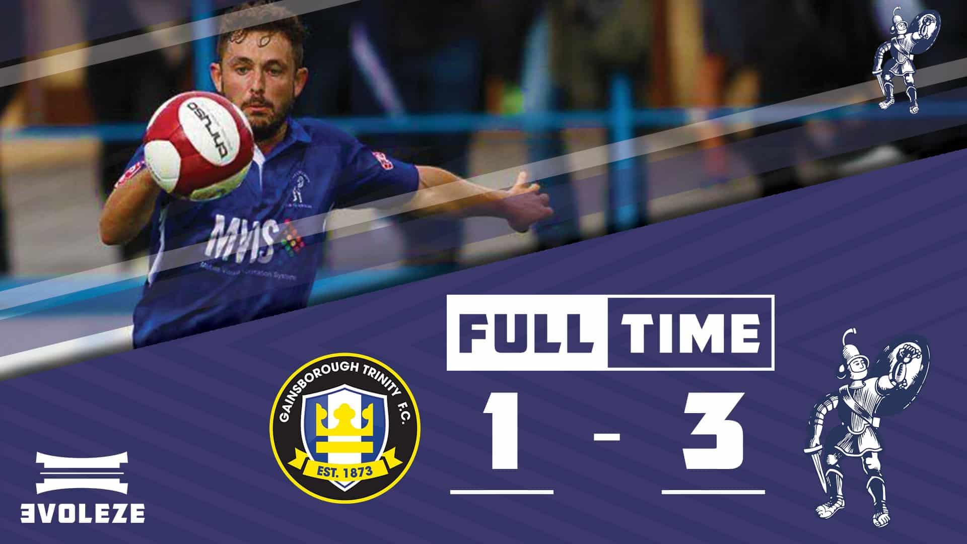 full time Matlock Town FC