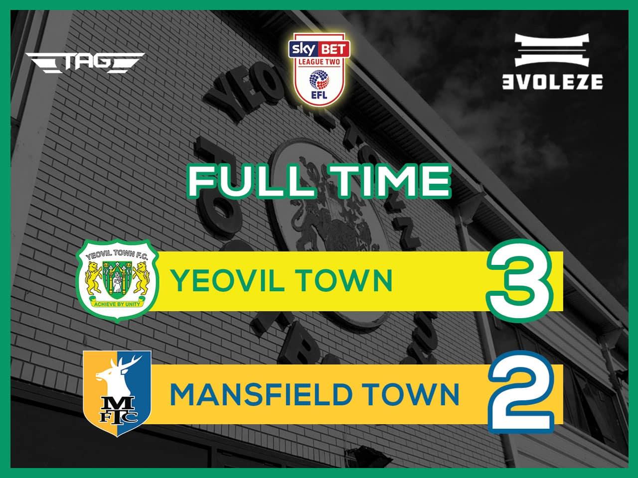 full time Yeovil Town FC