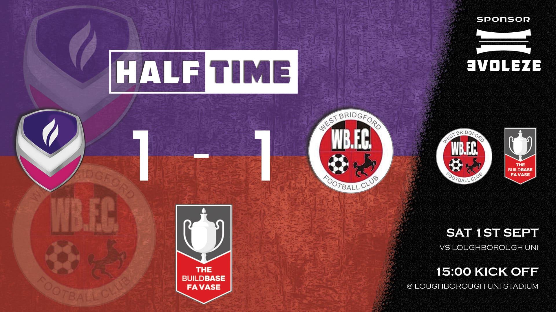 half time - West Bridgford FC
