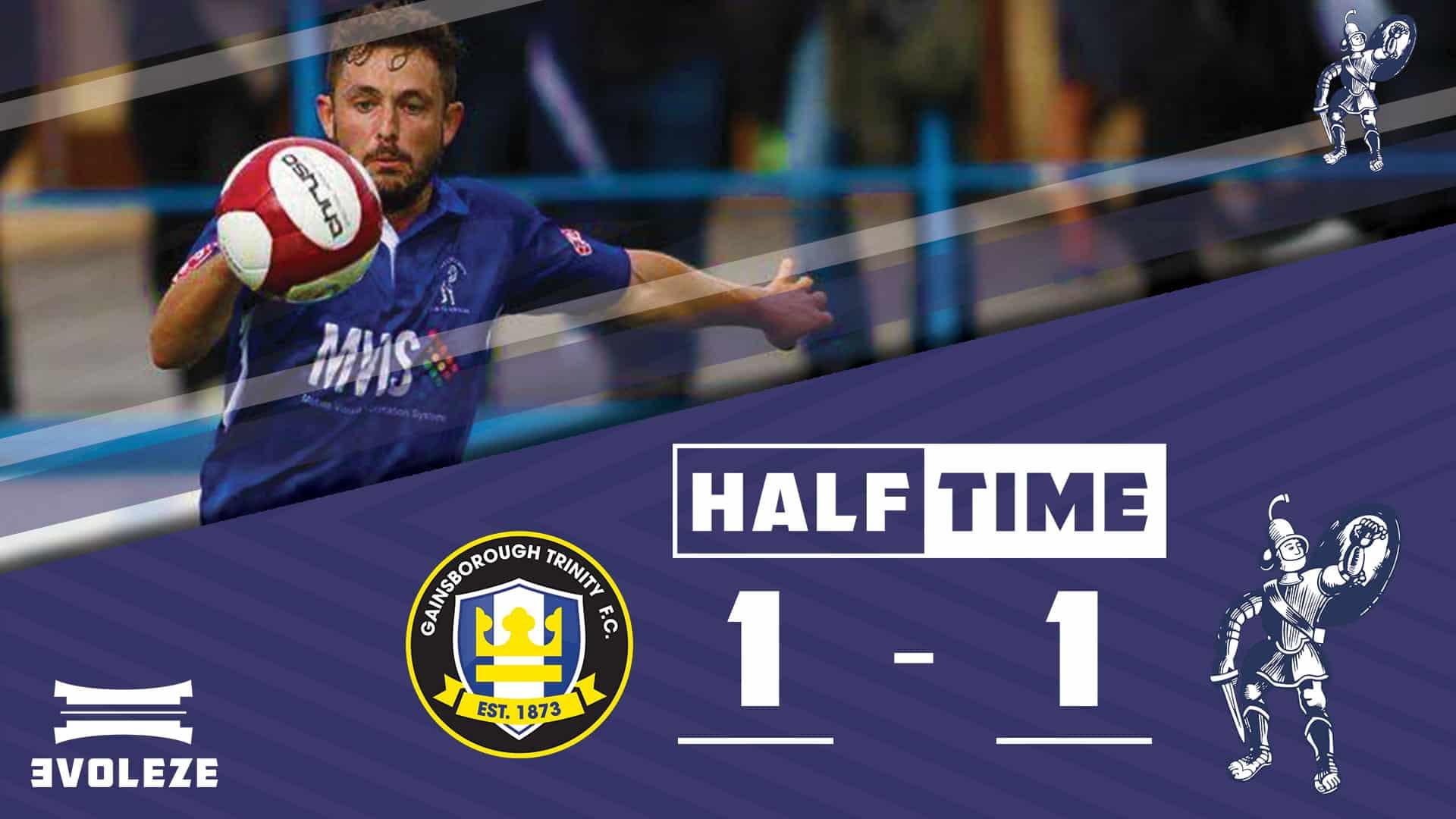 half time Matlock Town FC