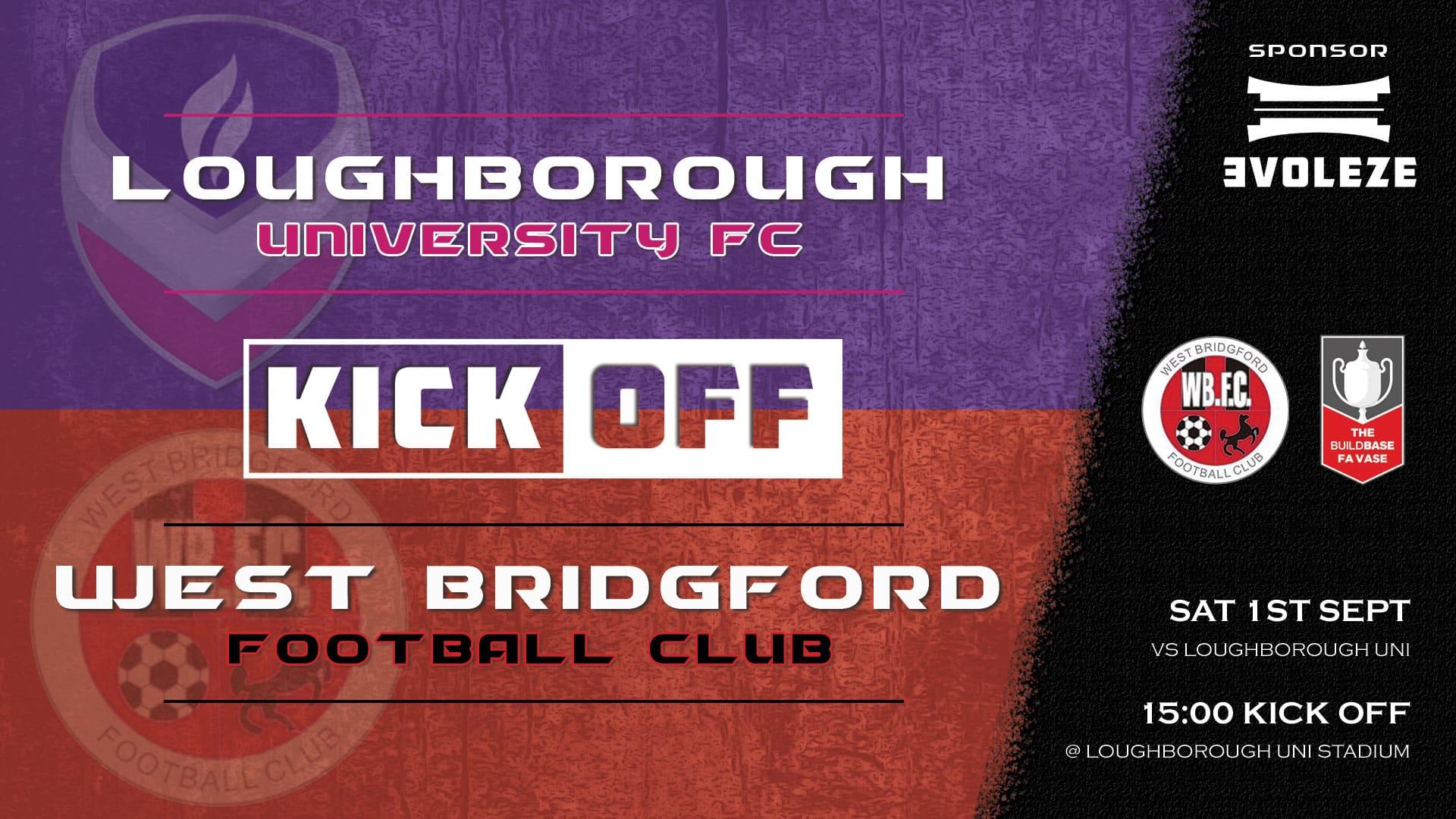 kick off - West Bridgford FC