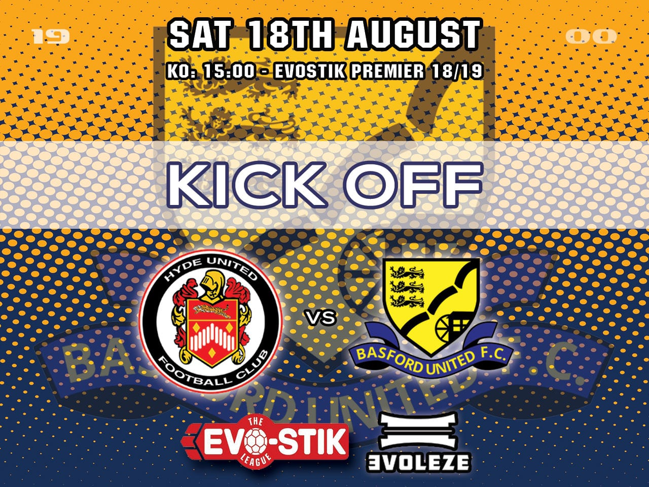 kick off Basford United FC