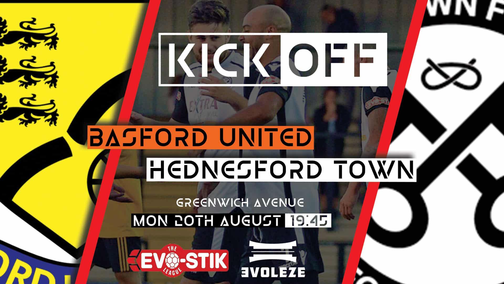 kick off Hednesford Town FC