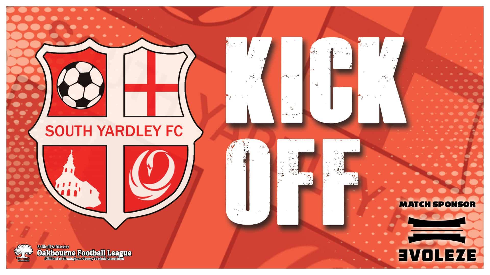 kick off South Yardley FC