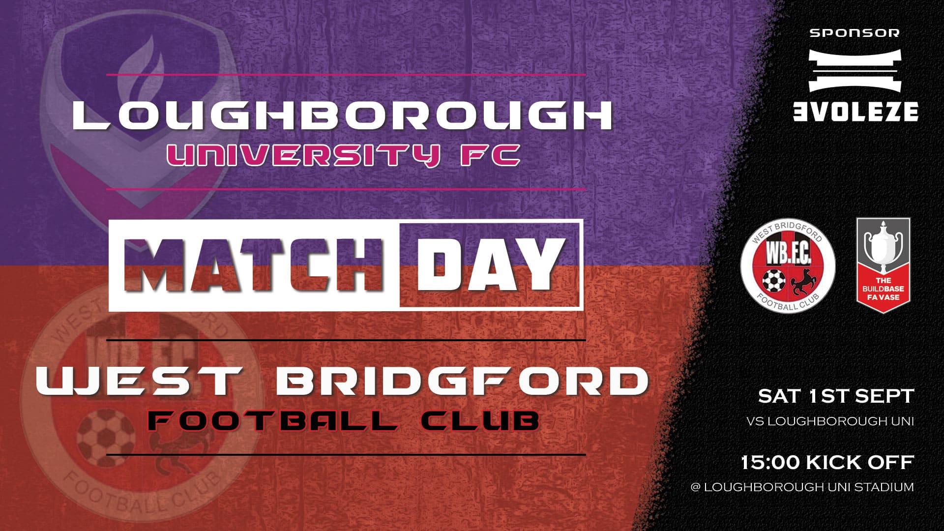 match day - West Bridgford FC