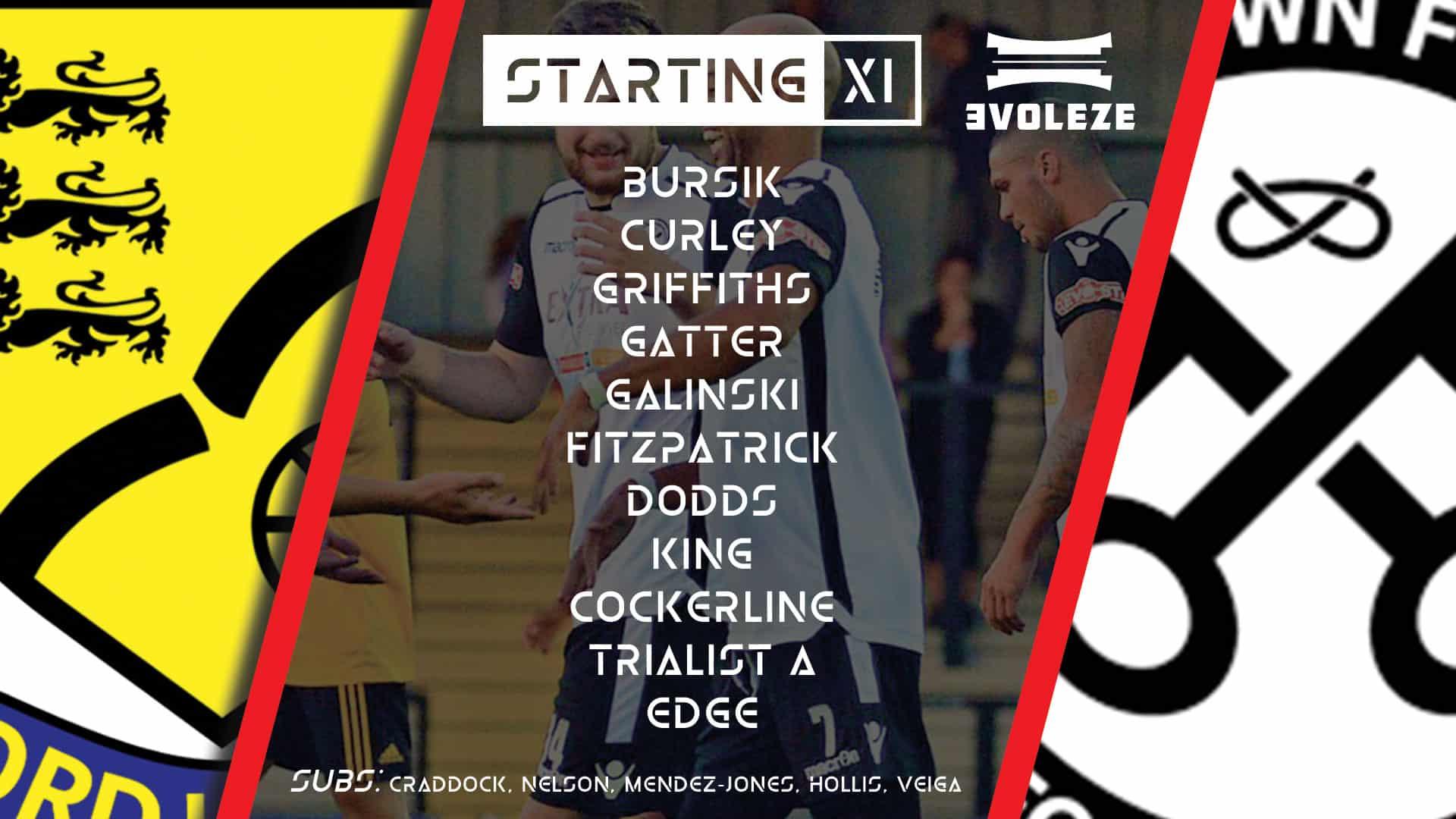 starting xi Hednesford Town FC