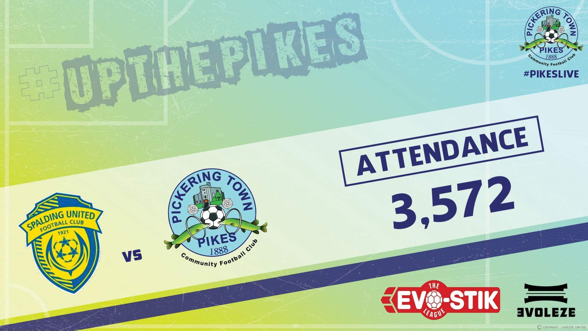 attendance - Pickering Town FC