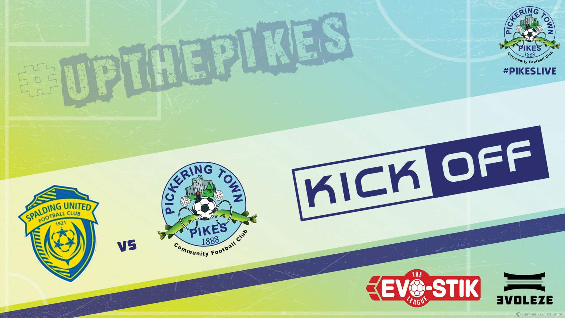 kick off - Pickering Town FC