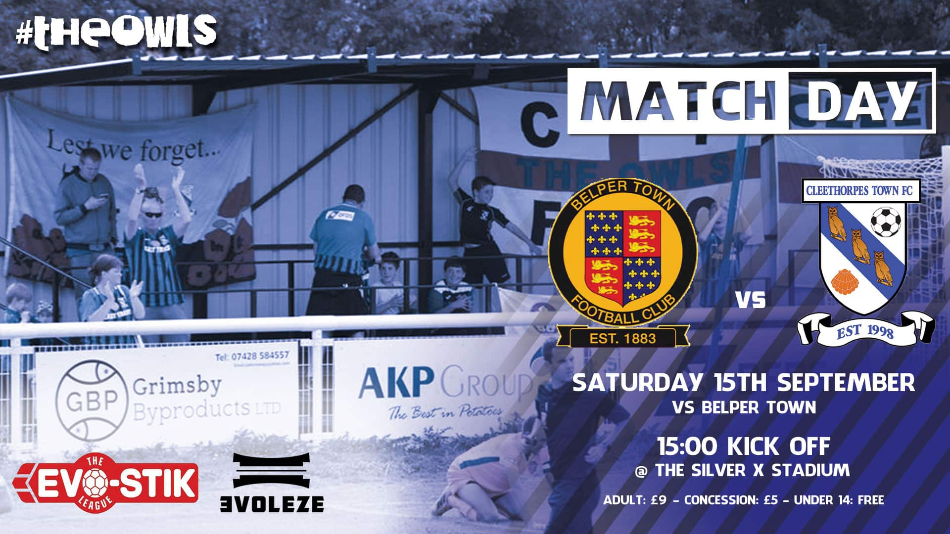 match day – Cleethorpes Town FC