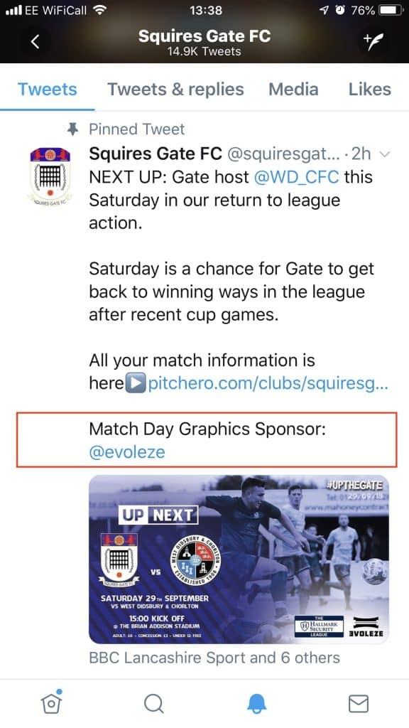match day graphics sponsor