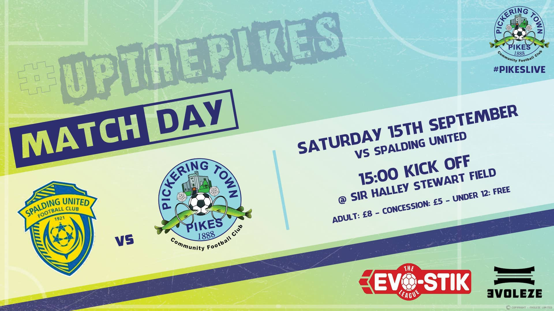 match day - Pickering Town FC