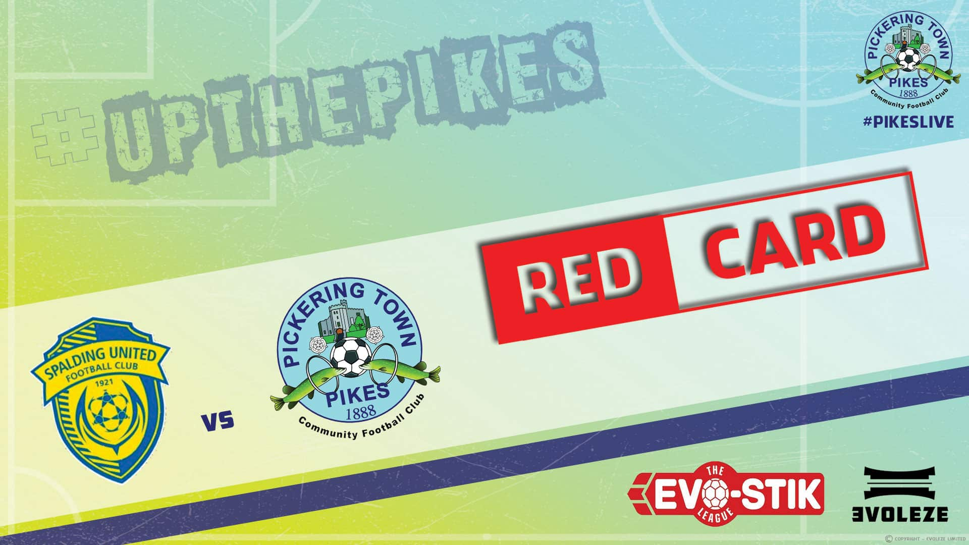 red card – Pickering Town FC