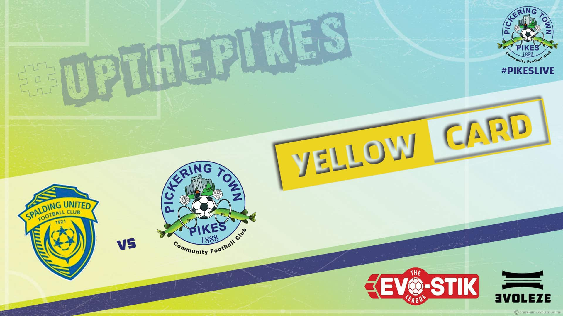 yellow card - Pickering Town FC