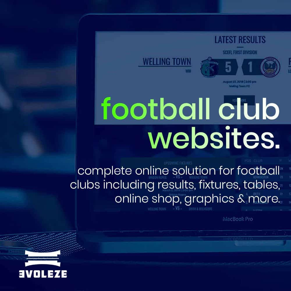 football club website prices