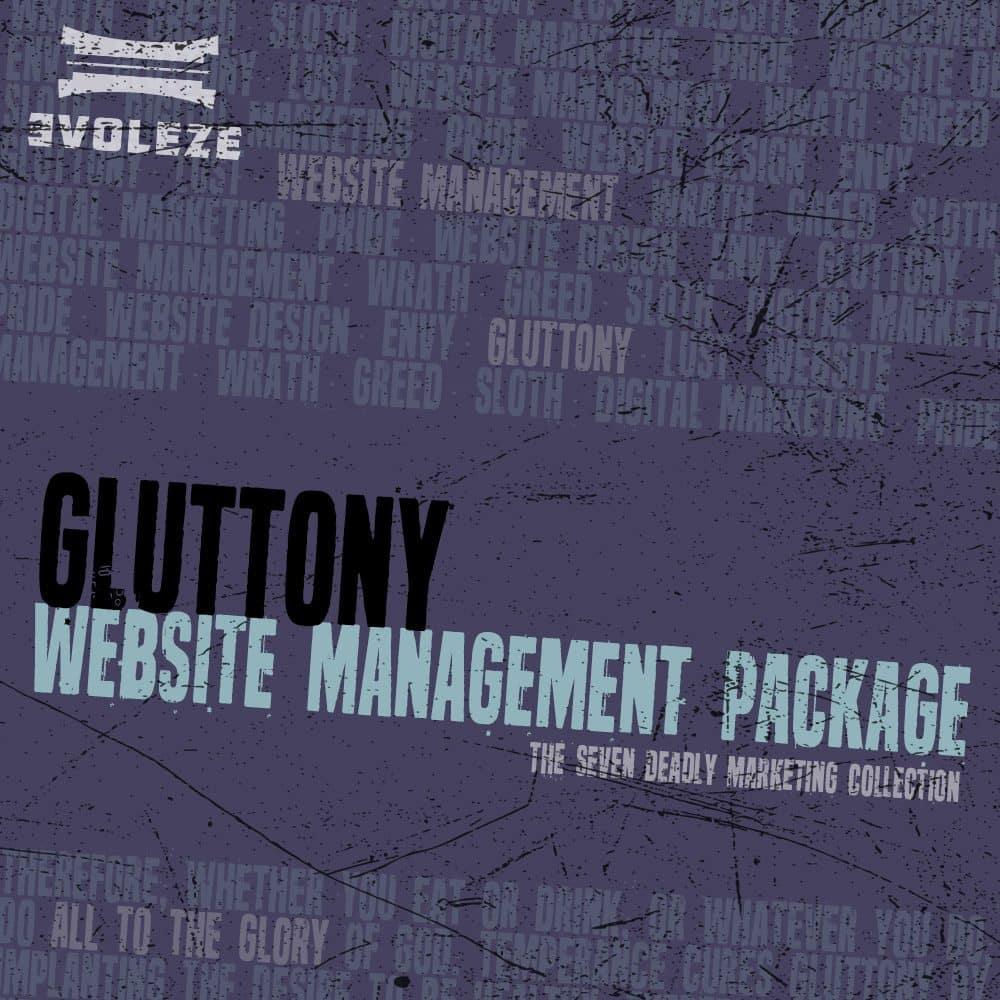 gluttony website management package