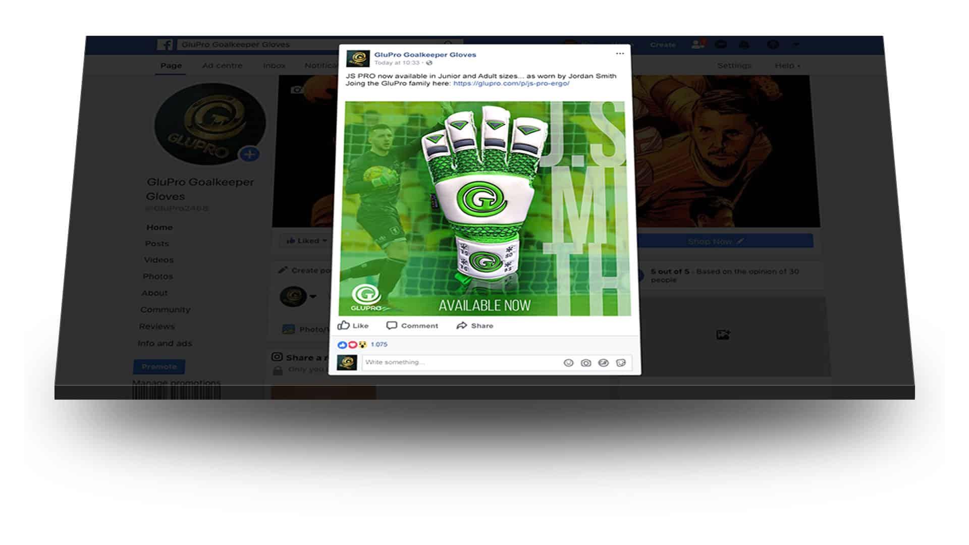 facebook social media work glupro
