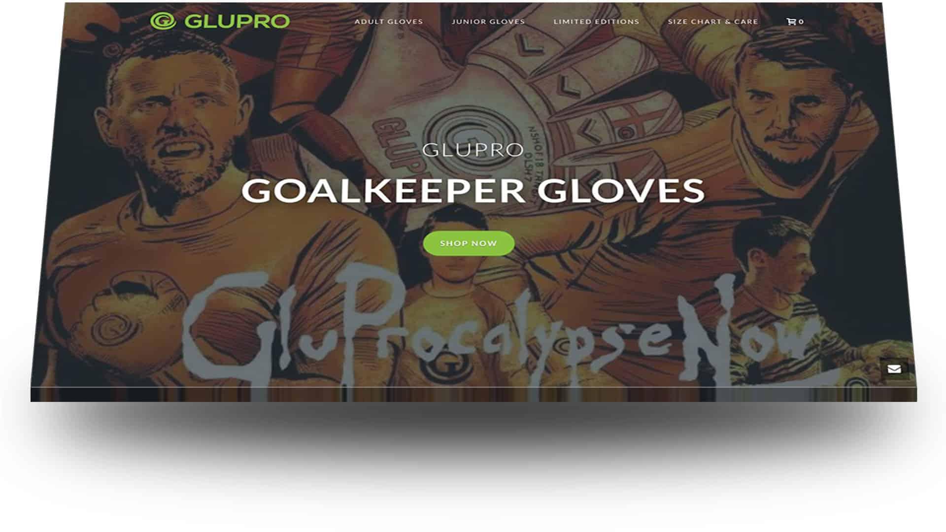 glupro - wordpress website design portfolio