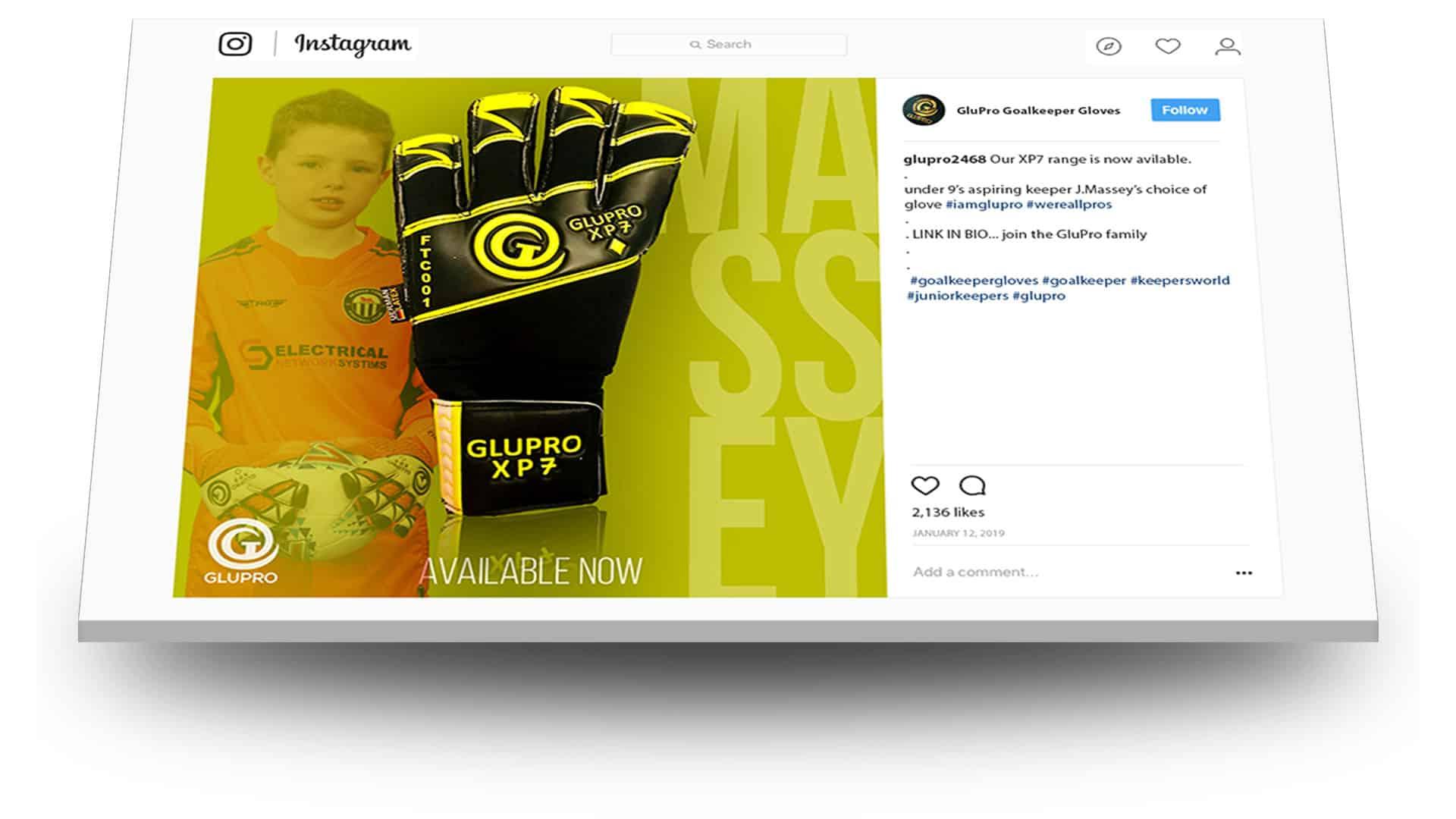 instagram social media work glupro