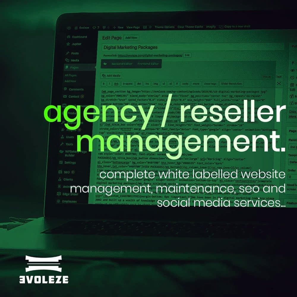 Agency Website Management Package