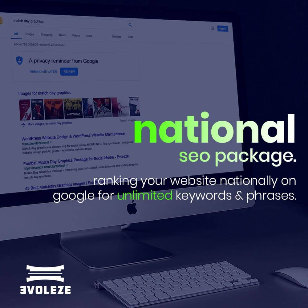 national seo package