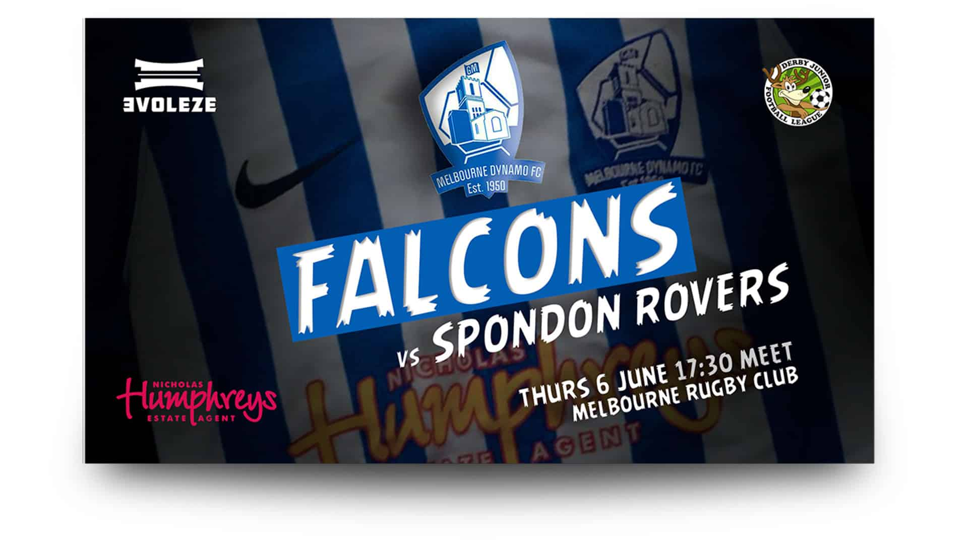 melbourne dynamo falcons - matchday graphics