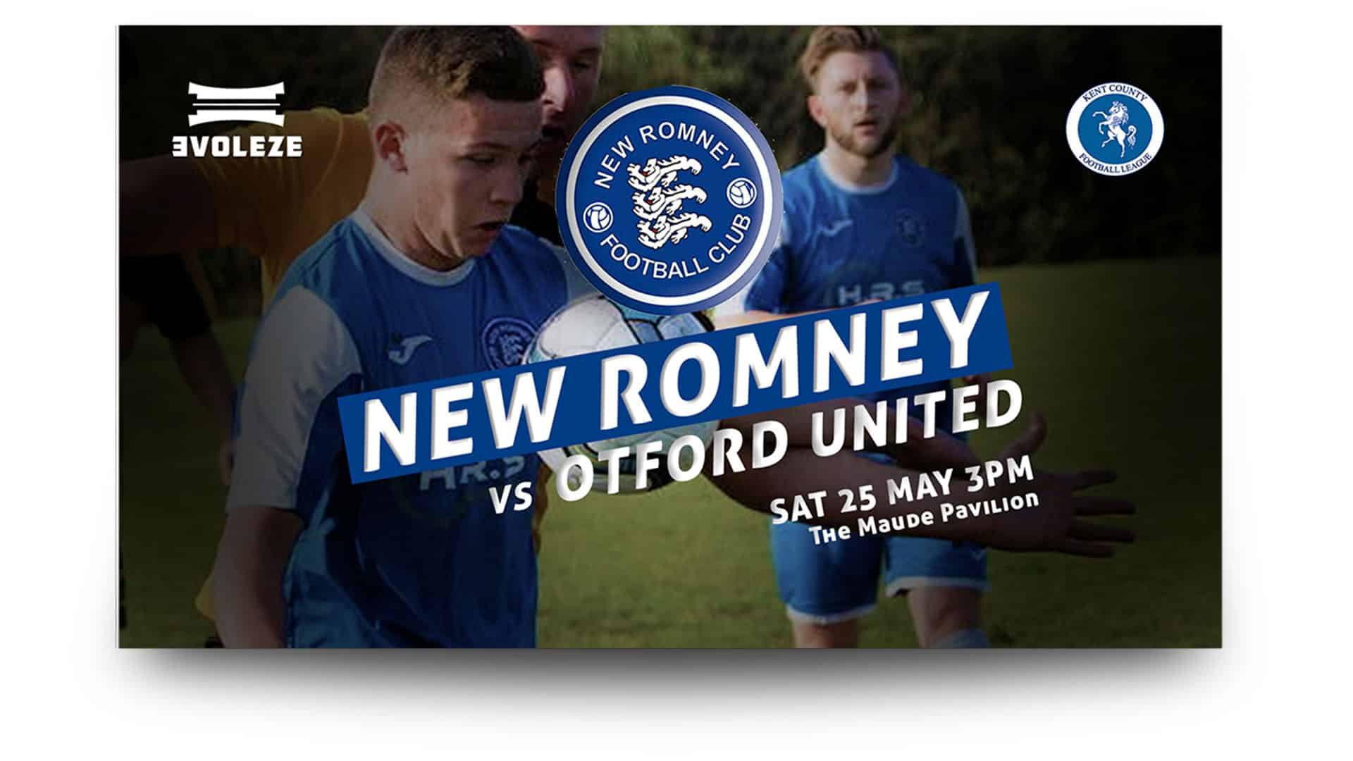 new romney fc - free matchday graphic - 2