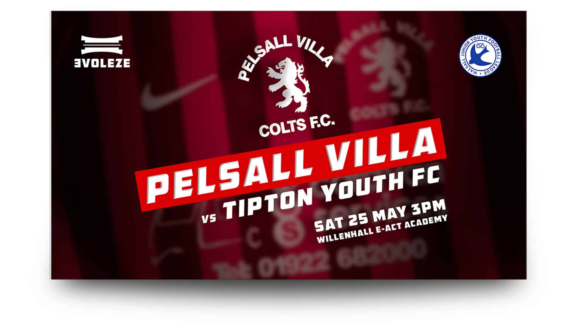 pelsall villa colts fc home - free matchday graphics