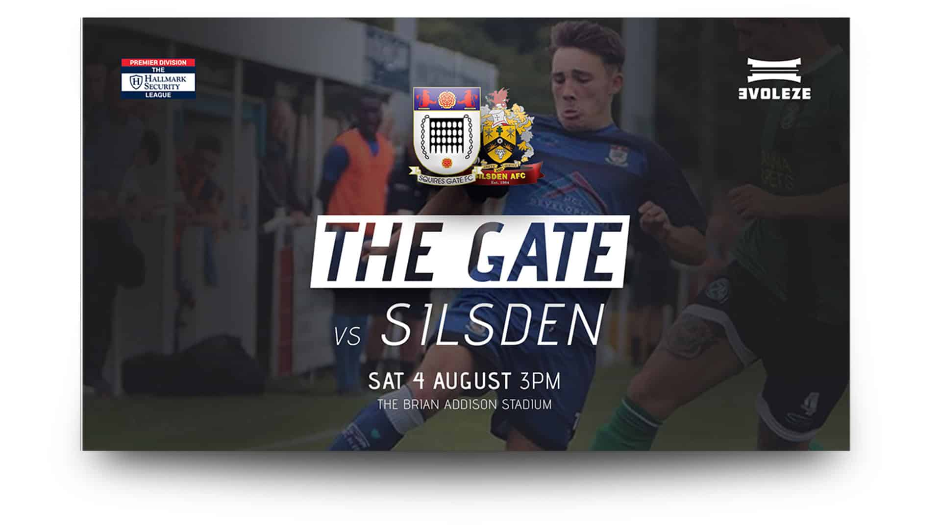 squires gate fc - matchday graphics set