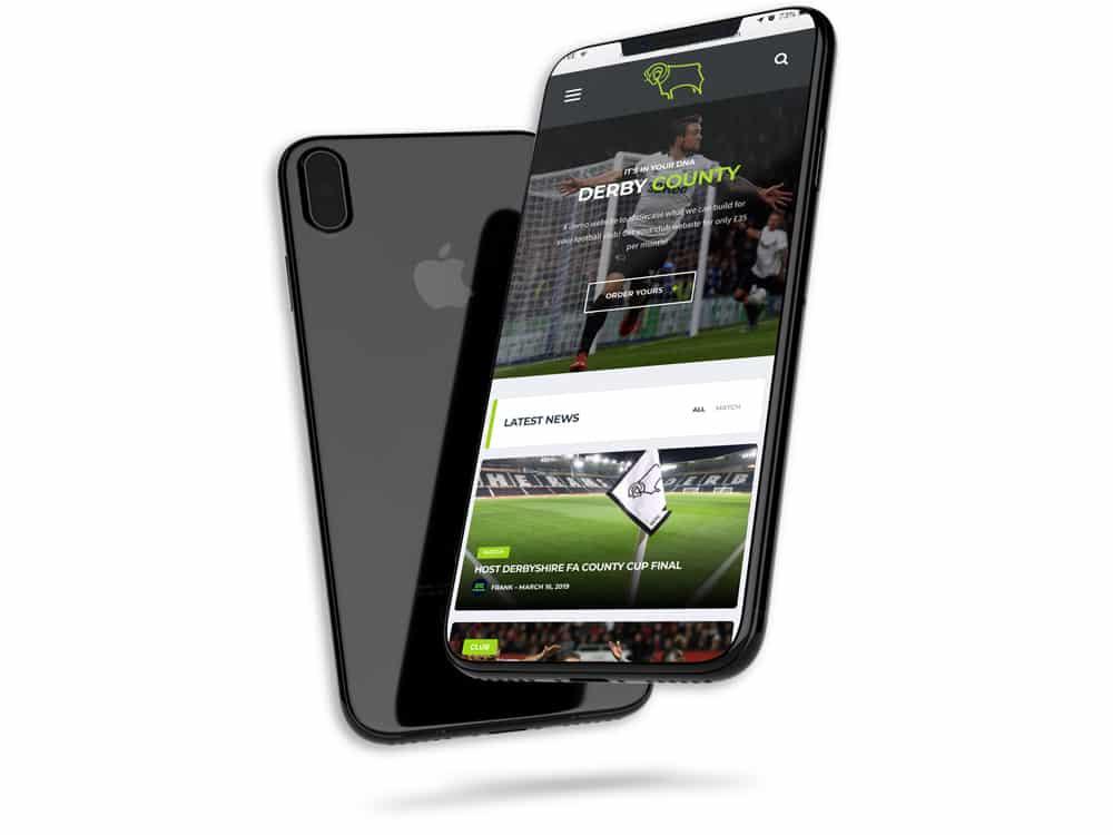 website design for futsal clubs