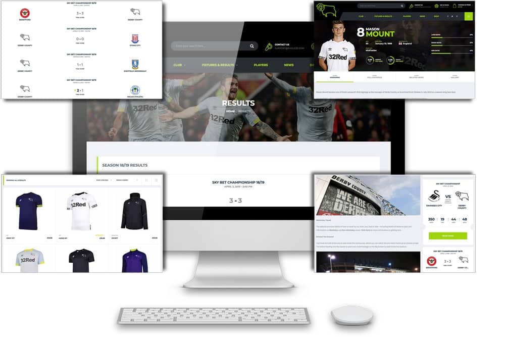 websites for football clubs