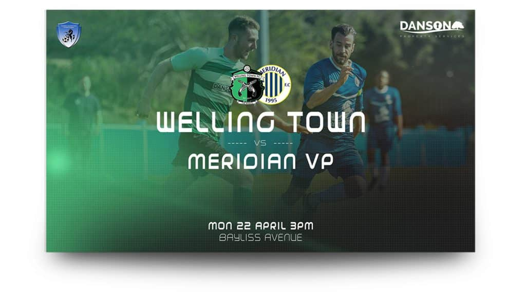 welling town - matchday graphics set