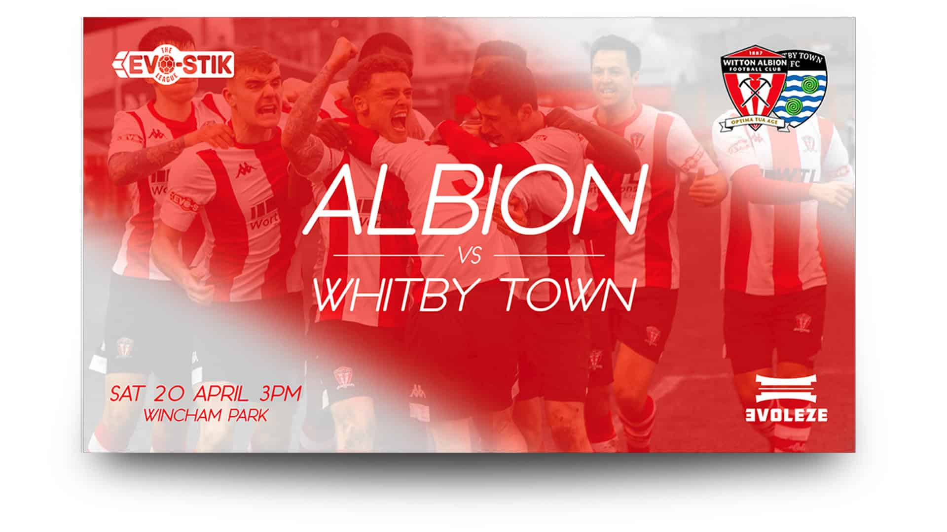 witton albion matchday graphics set