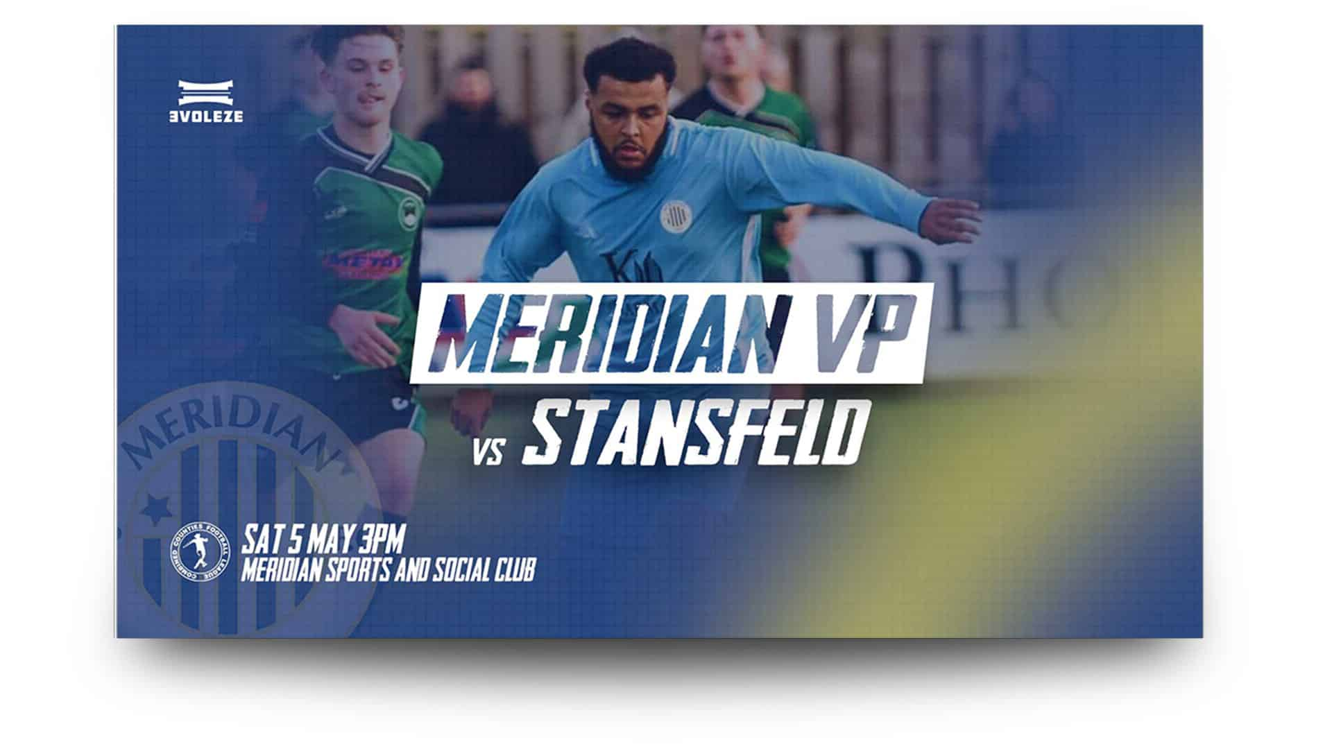 meridian vp fc matchday graphics