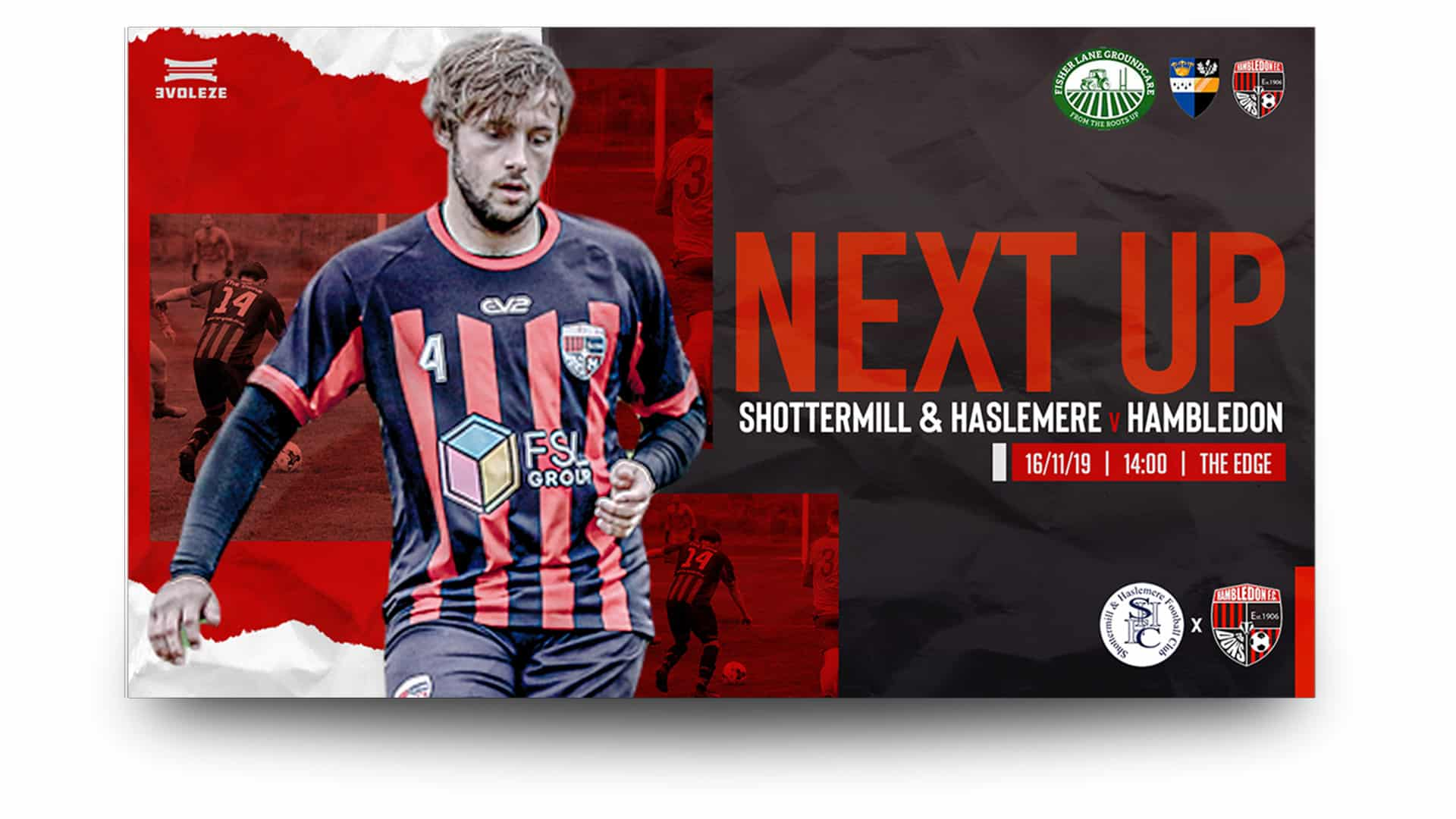 hambledon fc - matchday graphics set