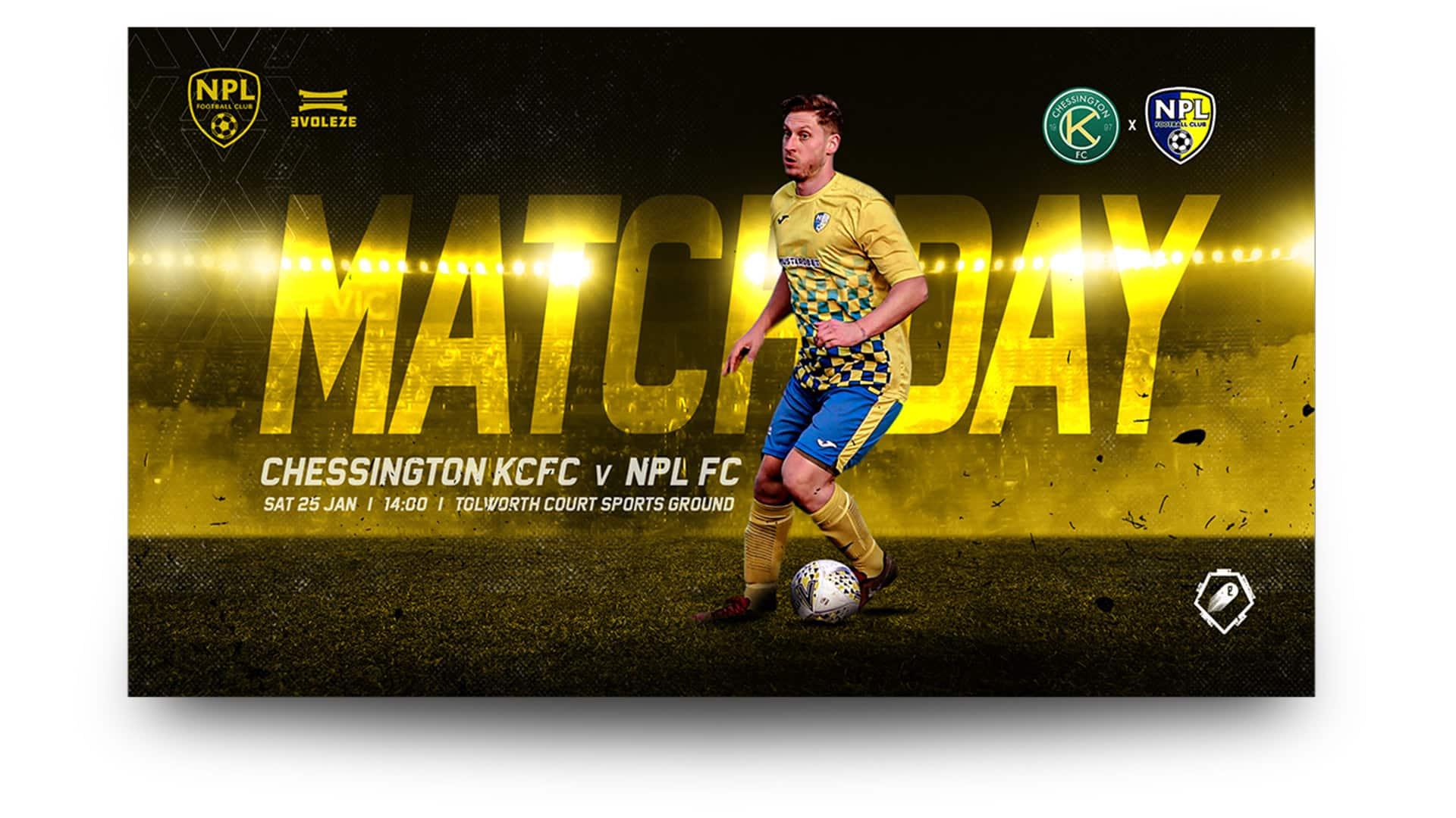 npl fc - matchday graphics set