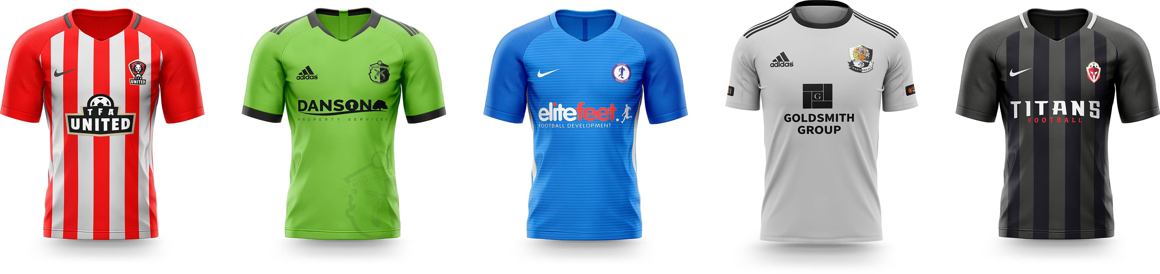 team football kits
