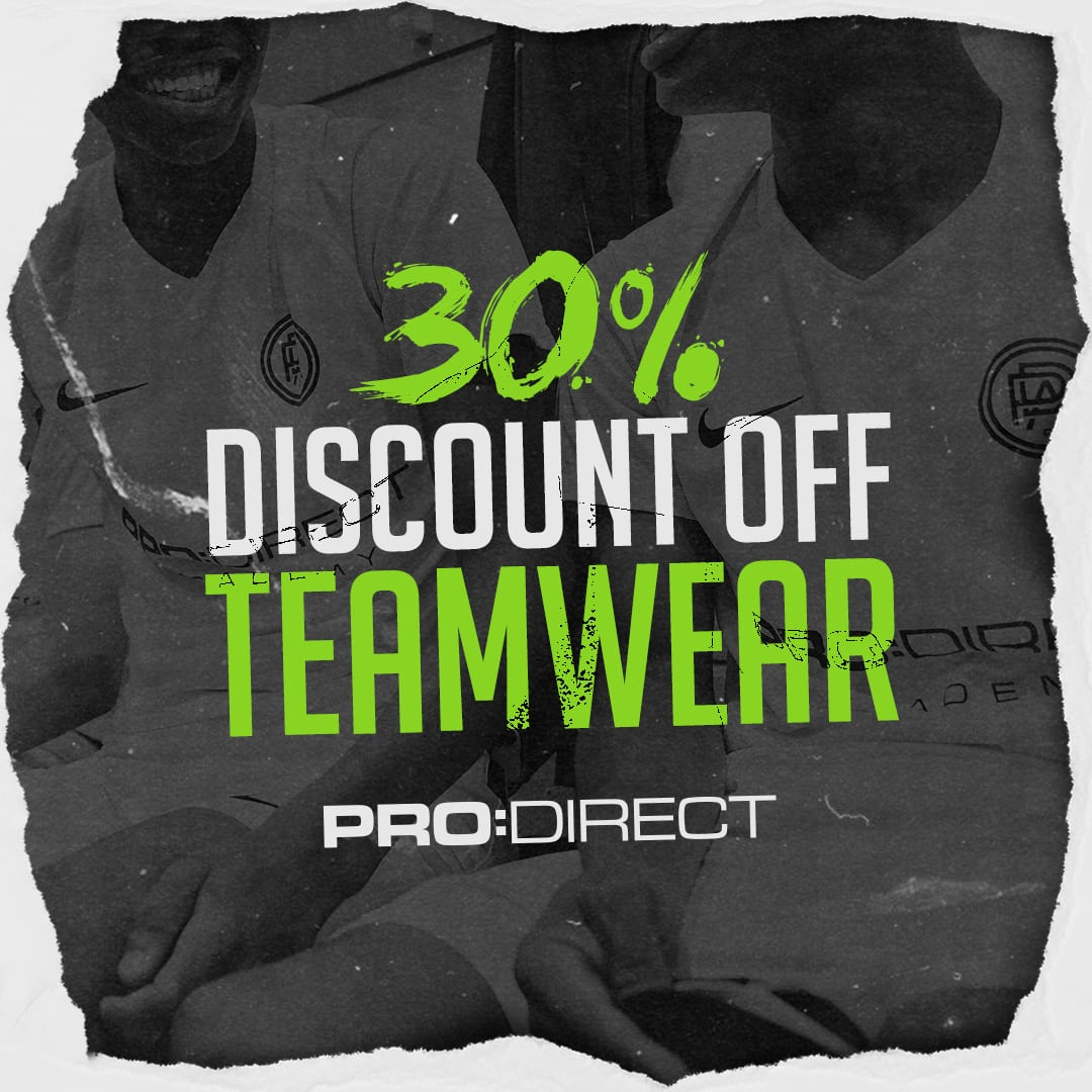 prodirect discount teamwear