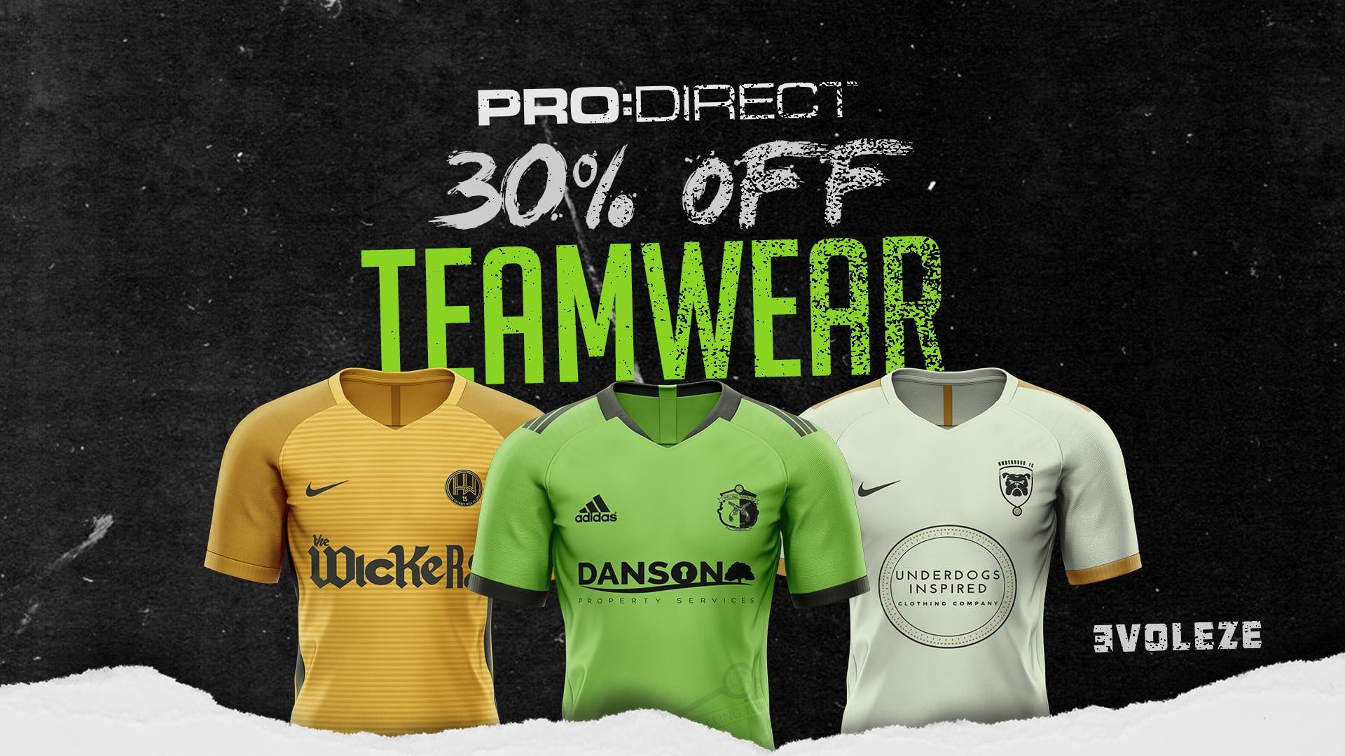 teamwear discount