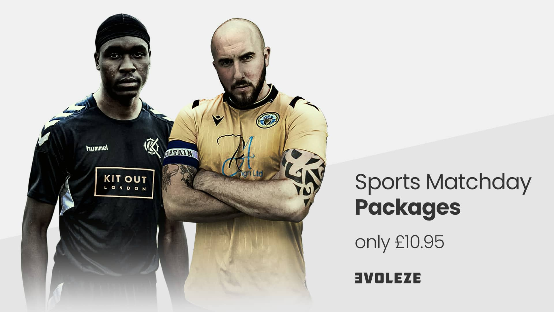 football matchday graphics packages