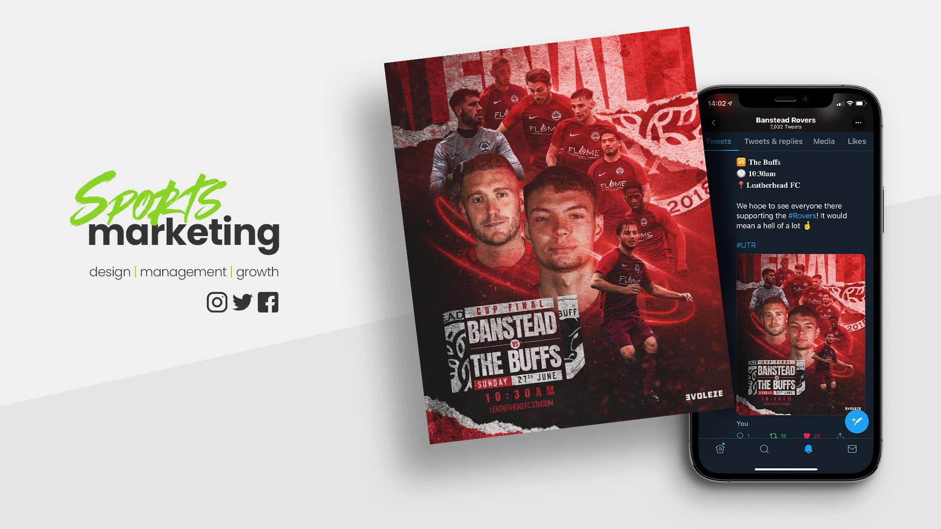 sports marketing design services